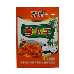 双猫油炒萝卜干 100克