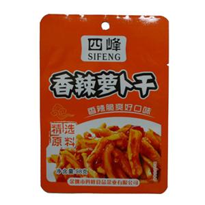 四峰香辣萝卜干 98克
