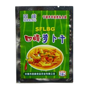 四峰油炒萝卜干 18克