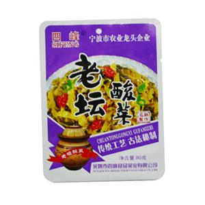 四峰老坛酸菜 80克