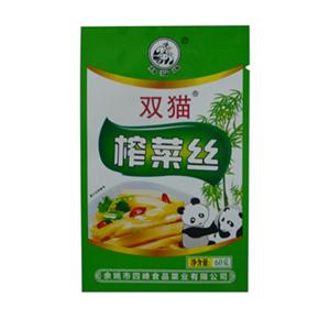 双猫榨菜丝 60克