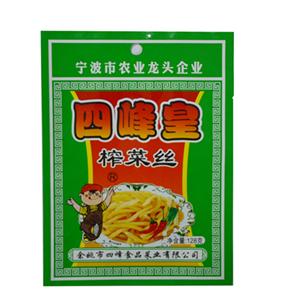 四峰皇榨菜丝 128克