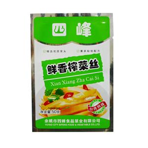 四峰鲜香榨菜丝 50克