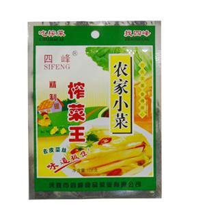 四峰榨菜王 108克