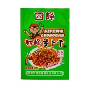 四峰油炒萝卜干 40克